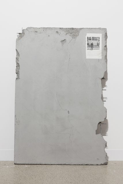 , 'Untitled (Salinger walking away from the interview with Betty Eppes, June 13, 1980),' 2014, Simon Lee Gallery