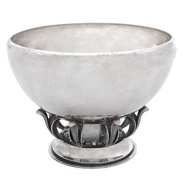 'Georg Jensen Sterling Silver Bowl', Design/Decorative Art, Doyle