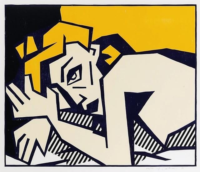 , 'Reclining Nude,' 1980, michael lisi / contemporary art