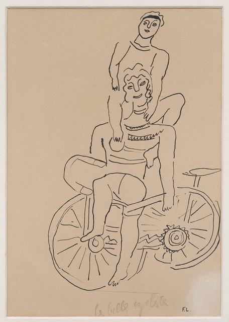 , 'Les belles cyclistes,' 1944, DICKINSON
