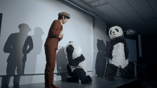 , 'Black and White – Giant Panda,' 2018, Liang Gallery