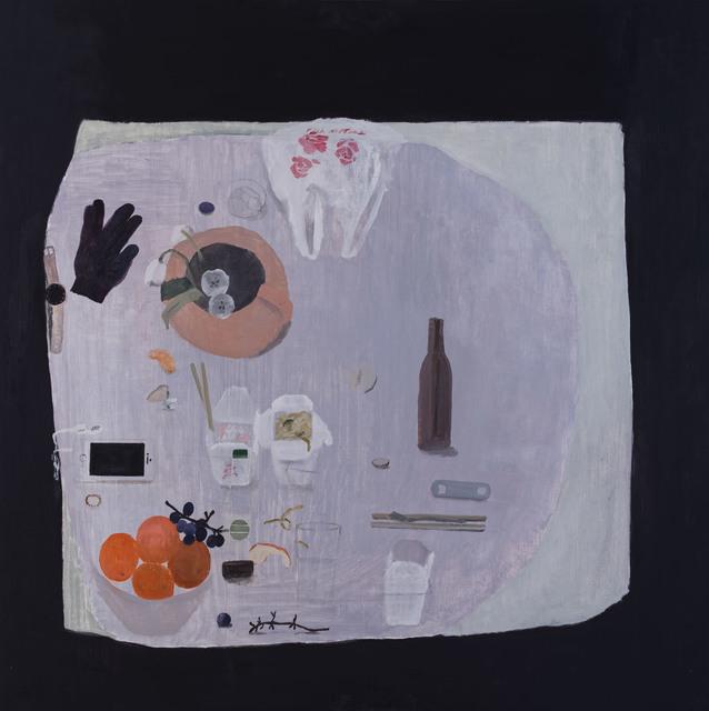 , 'Tired Table,' 2019, Nancy Margolis Gallery