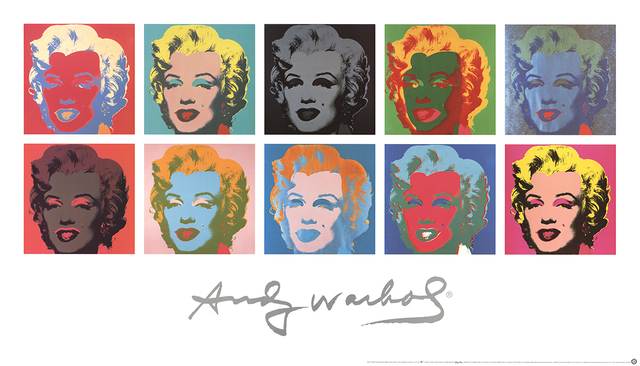Andy Warhol, 'Ten Marilyns (White Background)', 1997, Ephemera or Merchandise, Offset Lithograph, ArtWise