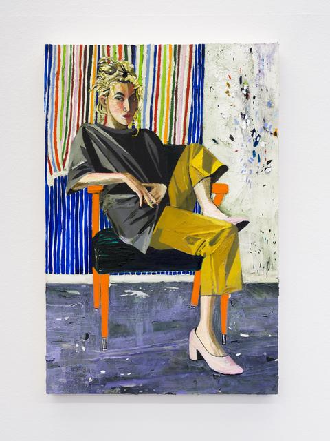 , 'Claire,' 2018, Buchmann Galerie
