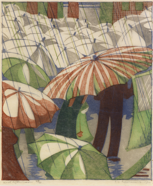 , 'Wet Afternoon,' 1929, Osborne Samuel