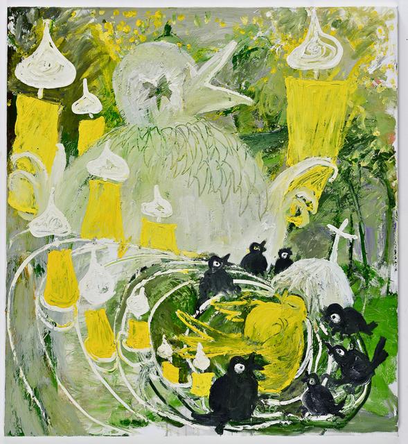 , 'Zeisig's End,' 2013, Anton Kern Gallery