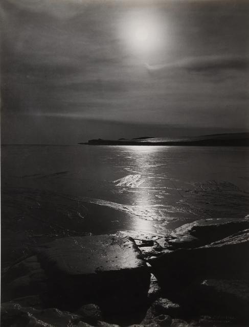 , 'THE FREEZING OF THE SEA, 1911,' 1911, Beetles + Huxley