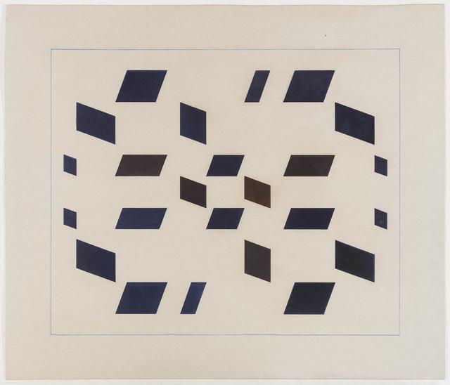 , 'Metaesquema MET043,' 1957, Bergamin & Gomide