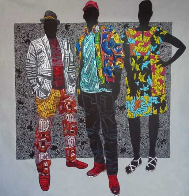 Peter Ngugi, 'Bak Bandika Bak Bandua', 2019, One Off Contemporary Art Gallery