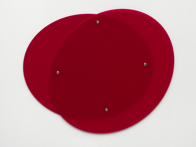 , 'Plexiglass (GS Red 3H00,' 2015, Galerie Eva Presenhuber