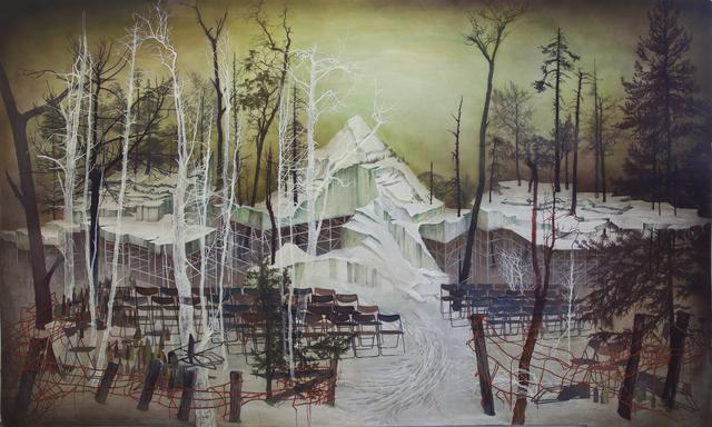 , 'Staged landscape,' 2014, Galeria Senda