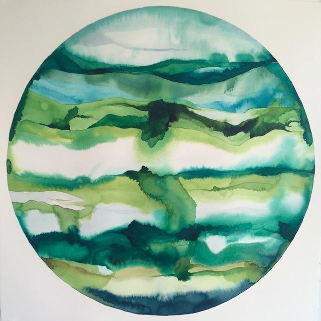 Idoline Duke, 'Green Strata Sphere', 2016, ARC Fine Art LLC