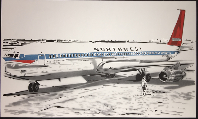 , 'Northwest Airlines, 1969,' 2016, Marion Gallery