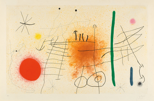 Joan Miró, 'Partie de campagne II (Country Party)', 1967, Phillips
