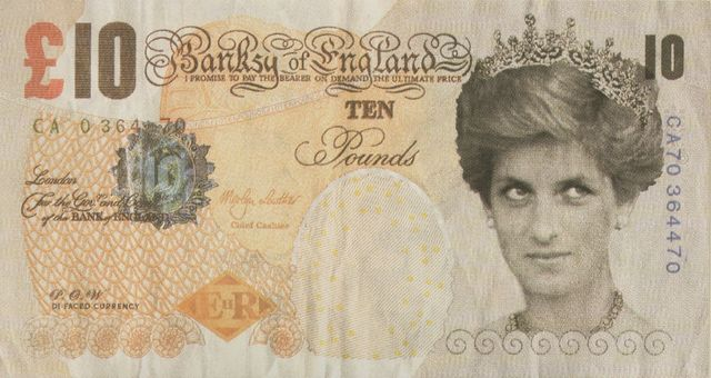 Banksy, 'Di-Faced Tenner', 2004, Sworders
