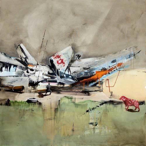 , 'The Observer,' 2014, Galerie Kellermann