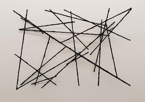 , 'Als der Strich begann den Raum für sich zu entdecken I,' 2018, Lukas Feichtner Gallery