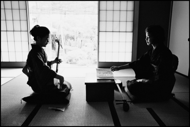 , 'A private bridal school, where ladies go through basic training to seek well-to-do future husbands, Kanagawa, JAPAN,' 1966, Hakgojae Gallery