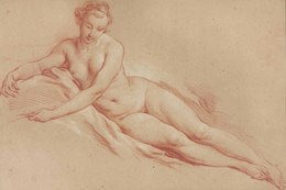 , 'A reclining female nude,' , Christie's Old Masters