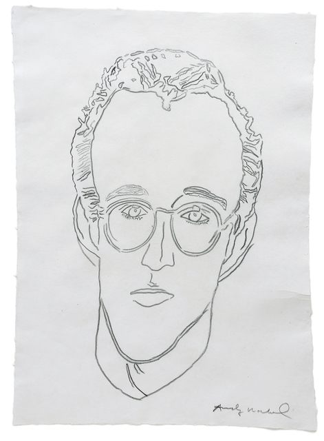 Andy Warhol, 'Untitled (Keith Haring)', n.d., Drawing, Collage or other Work on Paper, Graphite on paper, Phillips