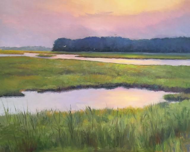 , 'Rehoboth Bay,' 2017, Peninsula Gallery