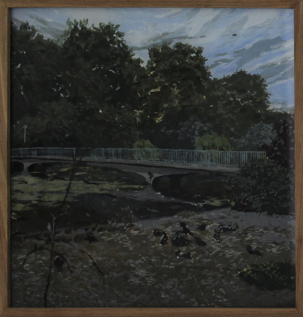, 'Elsewhere (St James' Park),' 2018, 99 Loop Gallery