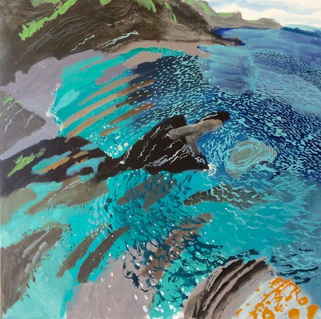 , 'Blue Bay,' 2018, Hybrid Gallery