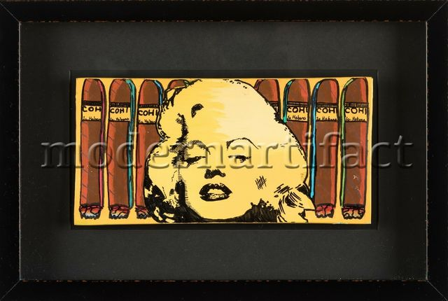 Steve Kaufman, 'Cohiba Monroe Cigar Tray', 1995, Modern Artifact