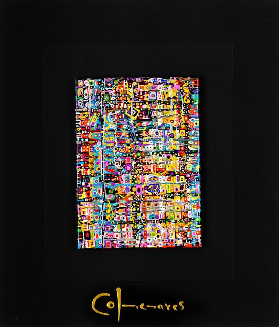 Gladys Colmenares, 'Parigi I', 2012, Painting, Tecnica mista on canvas, SmART Coast Gallery