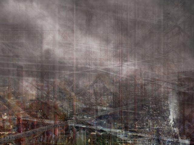 , 'W.T.C: Concrete Abstract#6,' 2011-2013, Julie M Toronto