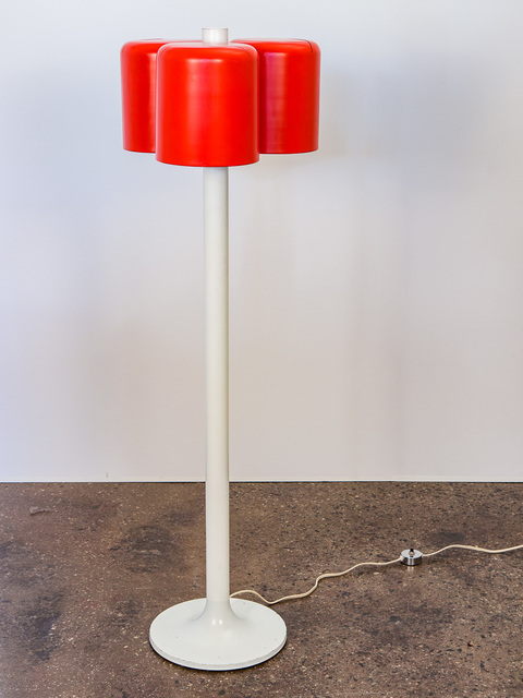 , 'Vermilion Three-Shade Floor Lamp,' ca. 1960, Open Air Modern