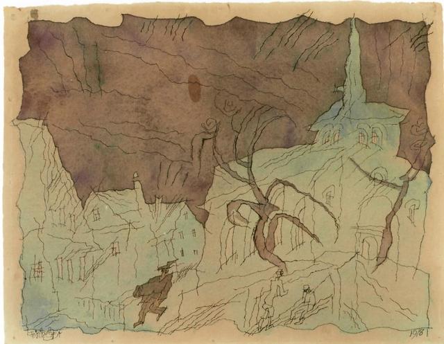, 'Ohne Titel,' 1918, Galerie Utermann