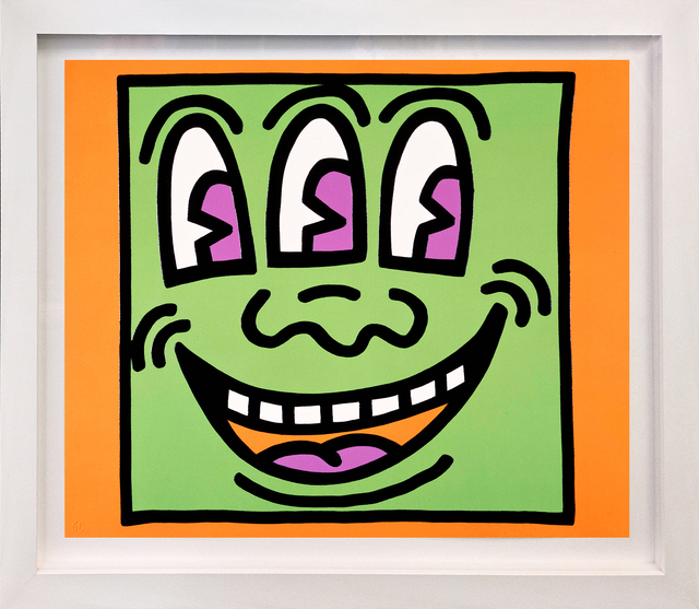 Keith Haring, 'THREE EYES (FROM ICON SERIES)', 1990, Gallery Art