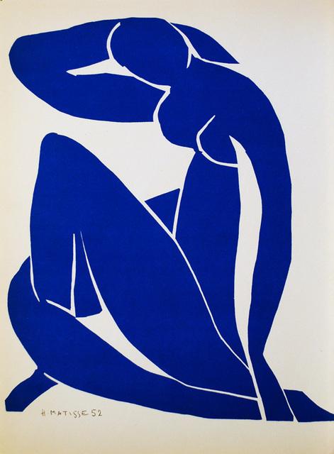 Henri Matisse, 'Nu Bleu II', 1952, Hidden