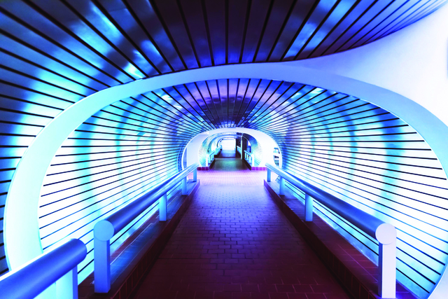 , 'Railroad Station Walkway; New Haven, CT 2015,' 2015, Copley Society of Art