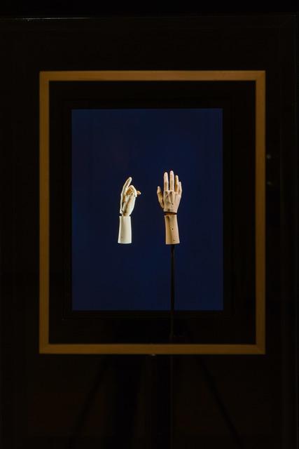 Elizabeth King, 'Bartlett's Hands', 2005, Sculpture, Sculpture and stop-frame animation, LCD screen, hidden computer, dedicated lighting., MASS MoCA