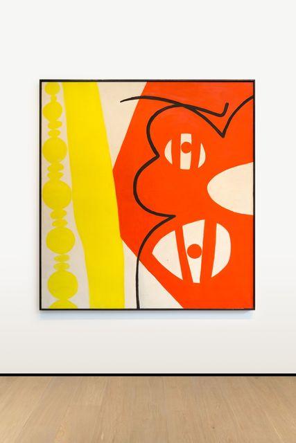 , 'Mit Schwarzer Kontur,' 1966, Almine Rech