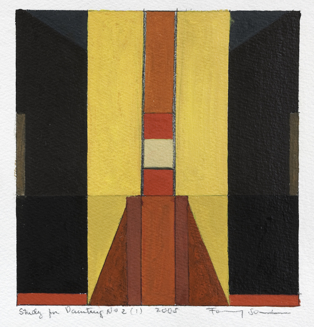 Fanny Sanin, 'Study for Painting No. 2 (1), 2005', 2005, Sicardi | Ayers | Bacino