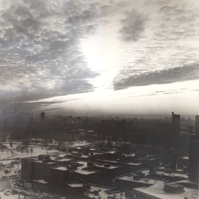 , 'Astor Towers Roofshot,' 1983, Fountain House Gallery