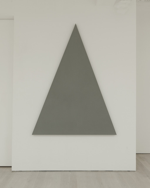 , 'Triangle Painting,' 2013, Annely Juda Fine Art