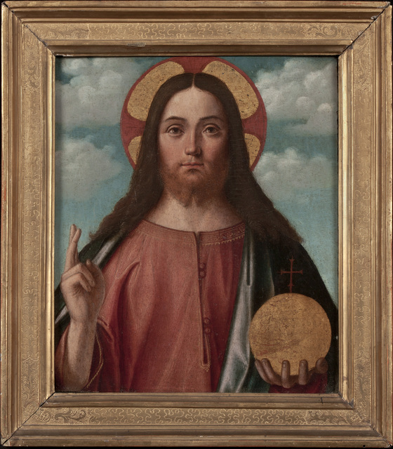 , 'Christ Blessing (Christ as Salvator Mundi),' , Robert Simon Fine Art