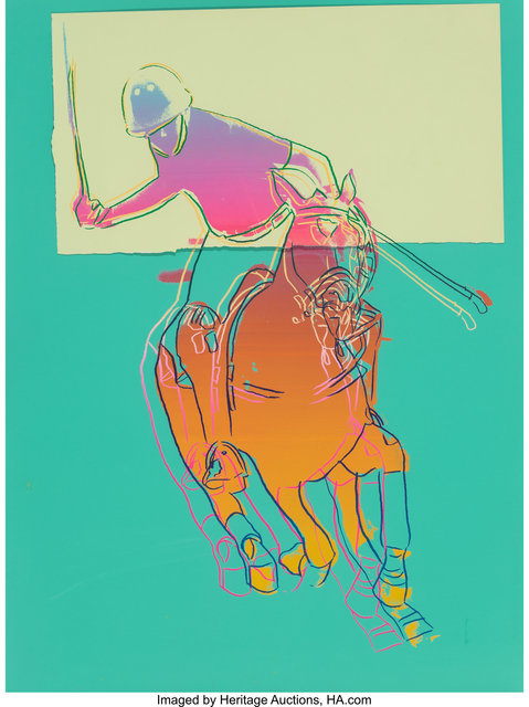 Andy Warhol, 'Polo (Green)', 1985, Heritage Auctions