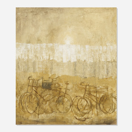 Giuseppe Banchieri, 'Landscape with Bicycles,' 1957, Wright: Art + Design (February 2017)