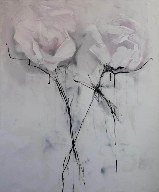 Virginie Bocaert, 'Pure and white', 2018, Painting, Acrylic on canvas, Thompson Landry Gallery