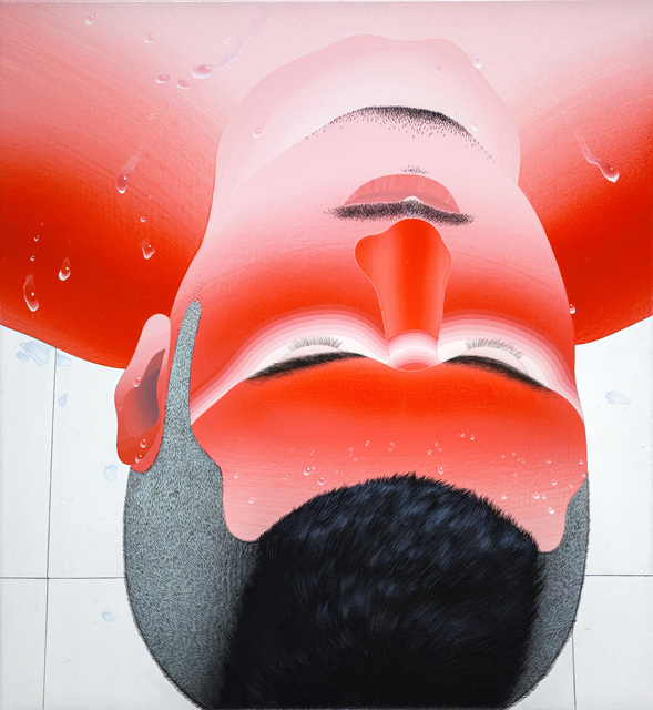 , 'Sweat Beading on Forehead,' 2018, Aki Gallery