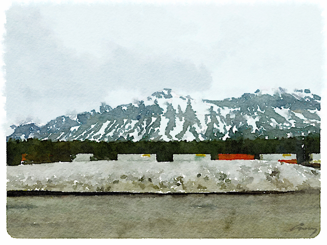 Anne M Bray, 'Marias Pass, MT', 2014, TAG Gallery