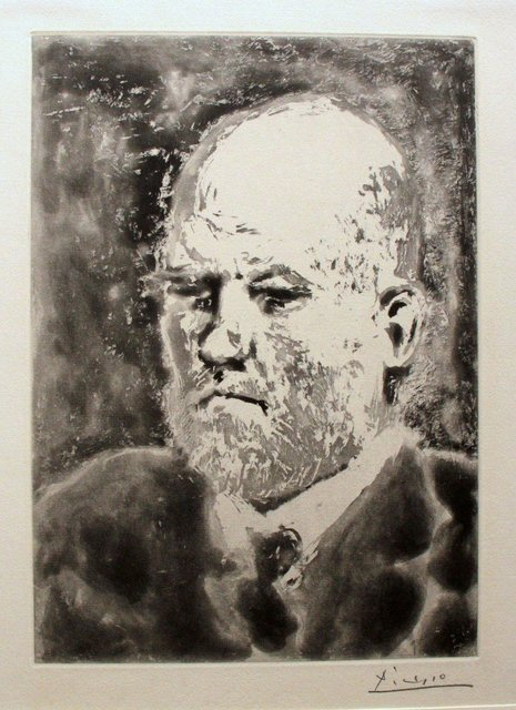 "Pablo Picasso, 'Portrait de Vollard III - From ""La Suite Vollard""', 1937, Wallector"