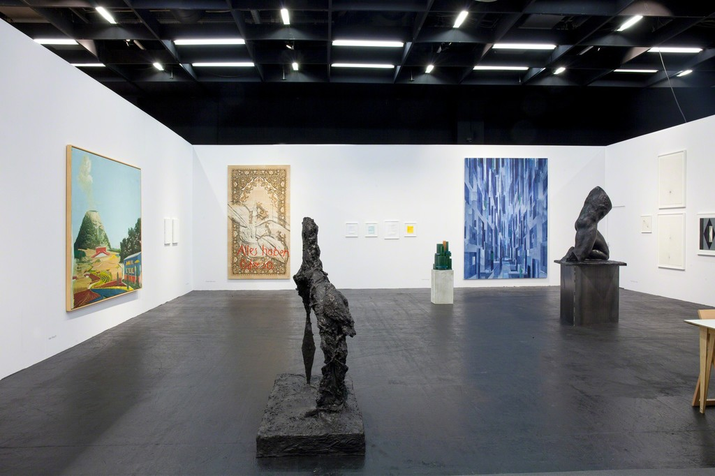 Galerie EIGEN + ART Leipzig/Berlin, Art Cologne, 2019, Hall 11.2, booth A 001, Photo: Otto Felber, Berlin