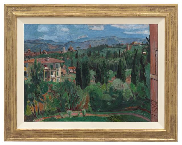 Hans Purrmann, 'Blick über Florenz', 1935, Painting, Oil on canvas, Ludorff