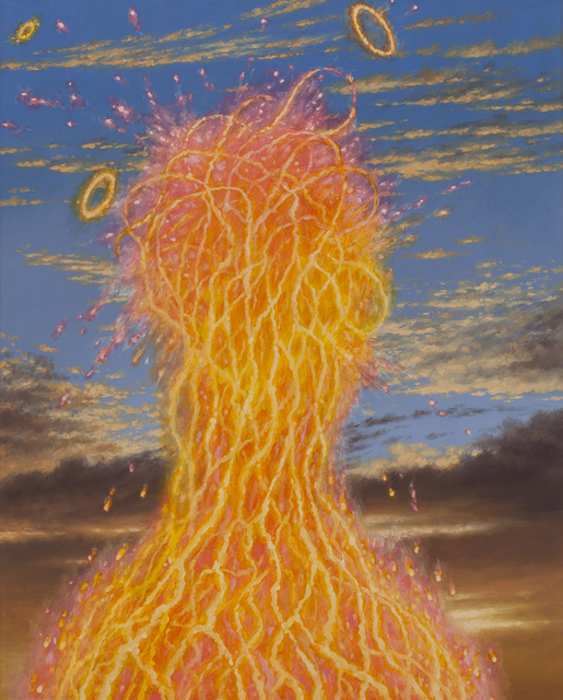 , 'Spectral Witness with Summer Sky,' , Corey Helford Gallery